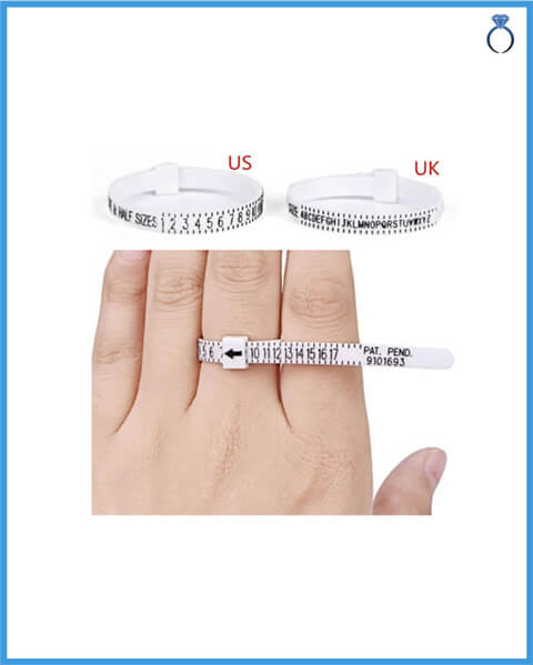 Measure ring size method 3